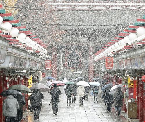 Ngắm tuyết rơi sớm tuyệt đẹp ở nhật bản - 10