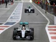 Thể thao - F1, đua thử Abu Dhabi GP: Hamilton cảnh báo Rosberg