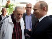 Putin: Ký ức về Fidel Castro sống mãi trong tim người Nga