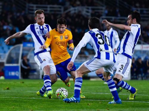 Sociedad - Barca: Hoang mang vào hiểm địa - 1