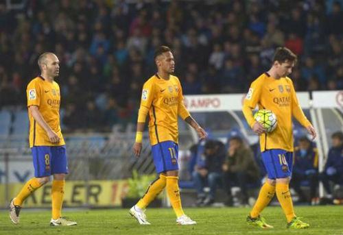Sociedad - Barca: Hoang mang vào hiểm địa - 2