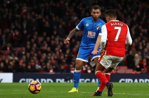 Arsenal - Bournemouth: Công phá dữ dội - 2