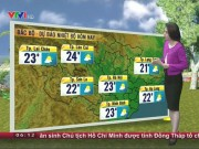 Tin tức trong ngày - Dự báo thời tiết VTV 27/11: Bão số 9 giật cấp 12 gây mưa lớn trên biển