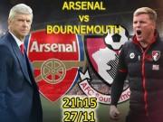 Bóng đá - Arsenal – Bournemouth: Chờ Giroud phá dớp