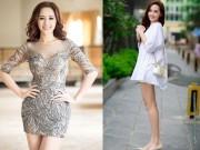 Thời trang - Mai Phương Thúy mê mặc váy cực ngắn khoe chân siêu dài