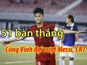 """Bóng đá - Xem Neymar """"chỉ là muỗi"""", bao giờ Công Vinh vượt Messi, Ronaldo?"""