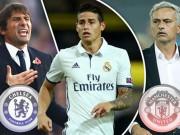Bóng đá - Chelsea-Conte tranh James Rodriguez với MU-Mourinho