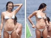 """Sao Hollywood và các nước khác - 6 siêu chân dài """"cả gan"""" cởi bikini gây náo loạn biển"""