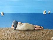 Bạn trẻ - Cuộc sống - Chiêm ngưỡng những tác phẩm được chế tác từ sỏi đá
