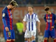 Bóng đá - Gặp dớp 10 năm, Barca - Messi tệ chưa từng thấy