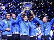 Thể thao - Tin thể thao HOT 28/11: Argentina đăng quang nghẹt thở Davis Cup