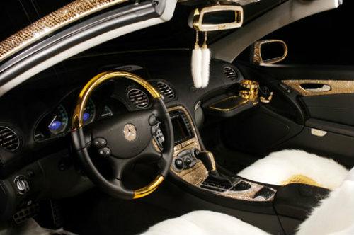 Lóa mắt Mercedes-Benz SL 600 kim cương giá 109 tỷ đồng - 10