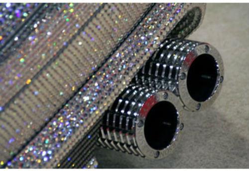 Lóa mắt Mercedes-Benz SL 600 kim cương giá 109 tỷ đồng - 8