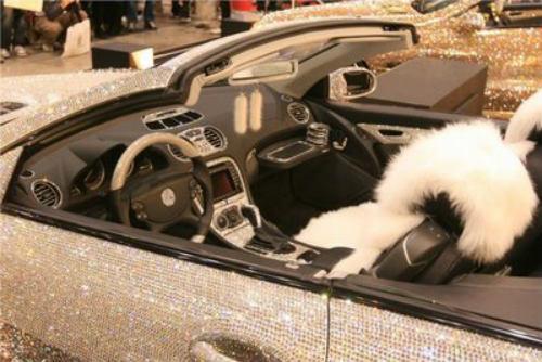 Lóa mắt Mercedes-Benz SL 600 kim cương giá 109 tỷ đồng - 11