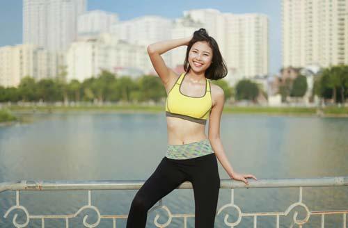 Người đẹp Đào Thị Hà luyện dáng sexy mà chẳng cần gym - 12