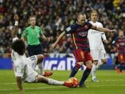 """Bóng đá - Barca """"lê bước"""" tới Siêu kinh điển: Nỗi nhớ Iniesta"""