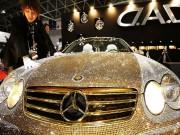 Tư vấn - Lóa mắt Mercedes-Benz SL 600 kim cương giá 109 tỷ đồng
