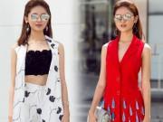 Thời trang - Á hậu Thùy Dung bất ngờ cá tính với áo bra-top hở eo