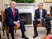 """Thế giới - Obama tận dụng """"quy định lúc nửa đêm"""" kiềm chế Trump?"""