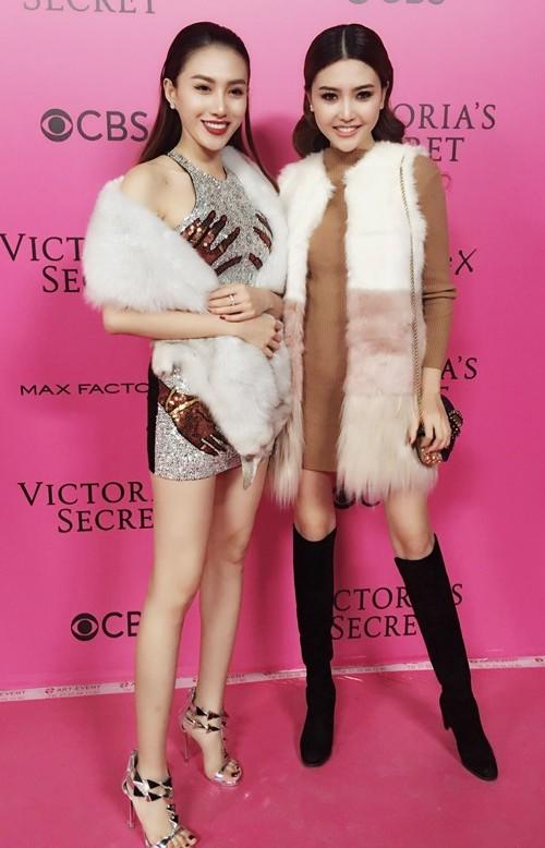 Ngọc Duyên - Lê Hà mặc sành điệu, đột nhập hậu trường Victoria's Secret - 6