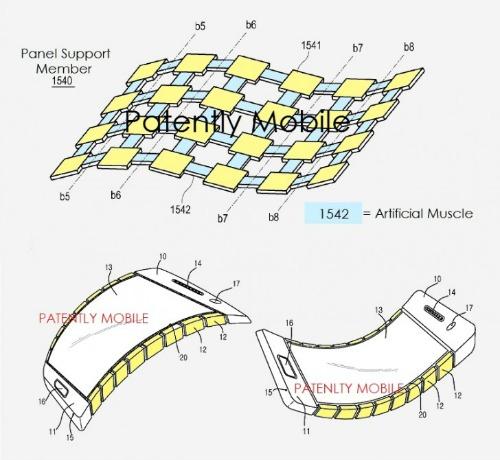 Samsung đã được cấp bằng sáng chế màn hình uốn cong mới - 2