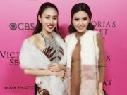 Ngọc Duyên - Lê Hà mặc sành điệu, đột nhập hậu trường Victoria ' s Secret