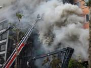 Tin tức trong ngày - Cháy quán karaoke 13 người chết: Cách chức nhiều cán bộ