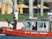Thế giới - Vệ sĩ cầm súng máy hạng nặng kè kè bên con trai Trump