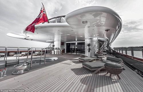 Ngắm những siêu du thuyền sang trọng nhất thế giới - ảnh 6