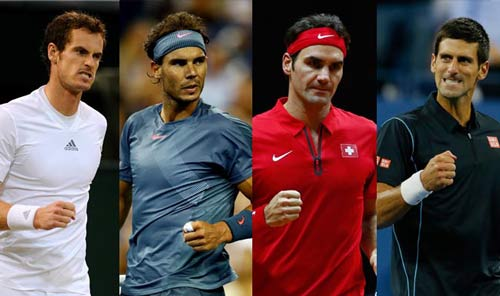 Nadal-Federer-Murray-Djokovic ra đi, ai sẽ lên ngôi?