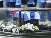 """Rước tro cốt lãnh tụ Fidel Castro về  nôi """"  cách mạng Cuba"""