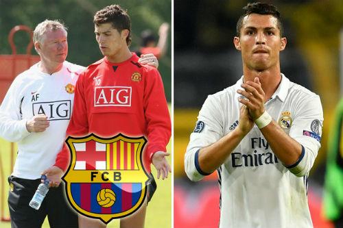 Tin nóng Siêu kinh điển Barca – Real: Ronaldo suýt là người Barca