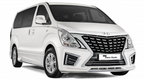 Hyundai Starex 2017: Sang trọng và hiện đại hơn - 1