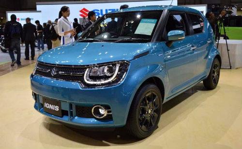 Maruti Suzuki Ignis sắp ra mắt, giá 165 triệu đồng