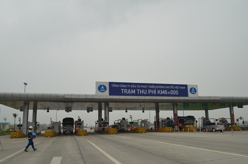 Dừng hoạt động một trạm thu phí trên cao tốc Pháp Vân-Ninh Bình - ảnh 1