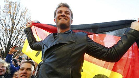 Sốc: Tân vương đua xe F1 Rosberg tuyên bố giải nghệ