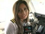 Thế giới - Máy bay chở đội bóng rơi: Lời cuối của nữ cơ phó xinh đẹp