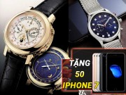 Thế giới thời trang - Tặng 50 Iphone 7 khi mua đồng hồ tại Đăng Quang Watch