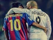 Kí ức Barca - Real: Ro béo  & amp; Ro vẩu rực sáng trận cầu 6 bàn