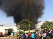 Tin tức trong ngày - Hà Nội: Cháy dữ dội ở KCN Ngọc Hồi