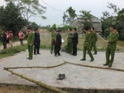 An ninh Xã hội - Phút đấu trí nghẹt thở tước vũ khí nghi phạm thảm án Hà Giang