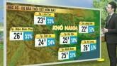 Dự báo thời tiết VTV 2/12: Miền Trung tiếp tục có mưa