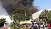 Hà Nội: Cháy dữ dội ở KCN Ngọc Hồi