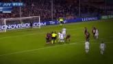 Bàn thắng đẹp V14 Serie A: Sao Juventus sút phạt như Pirlo