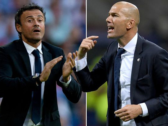 Siêu kinh điển Barca - Real, Zidane - Enrique: Đỉnh và vực