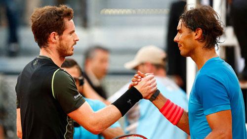 Tin thể thao 3/12: Nadal đứng sau thành công của Murray