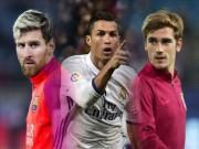 Bóng đá - Cầu thủ hay nhất FIFA: Griezmann đấu Messi, Ronaldo