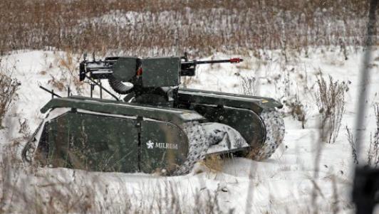 Video: Xe tăng mini tiêu diệt mục tiêu cách xa gần 2km