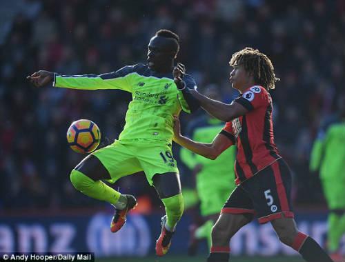 Bournemouth - Liverpool: Đầy kịch tính 7 bàn thắng