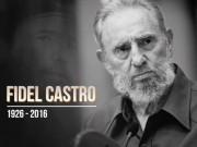 VN tổ chức Quốc tang lãnh tụ Cuba Fidel Castro hôm nay 4/12